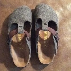 Birkenstock Bern- wool and leather